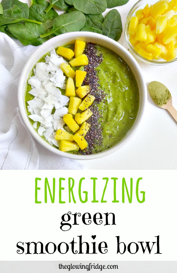 2. Energizing Green Smoothie Bowl