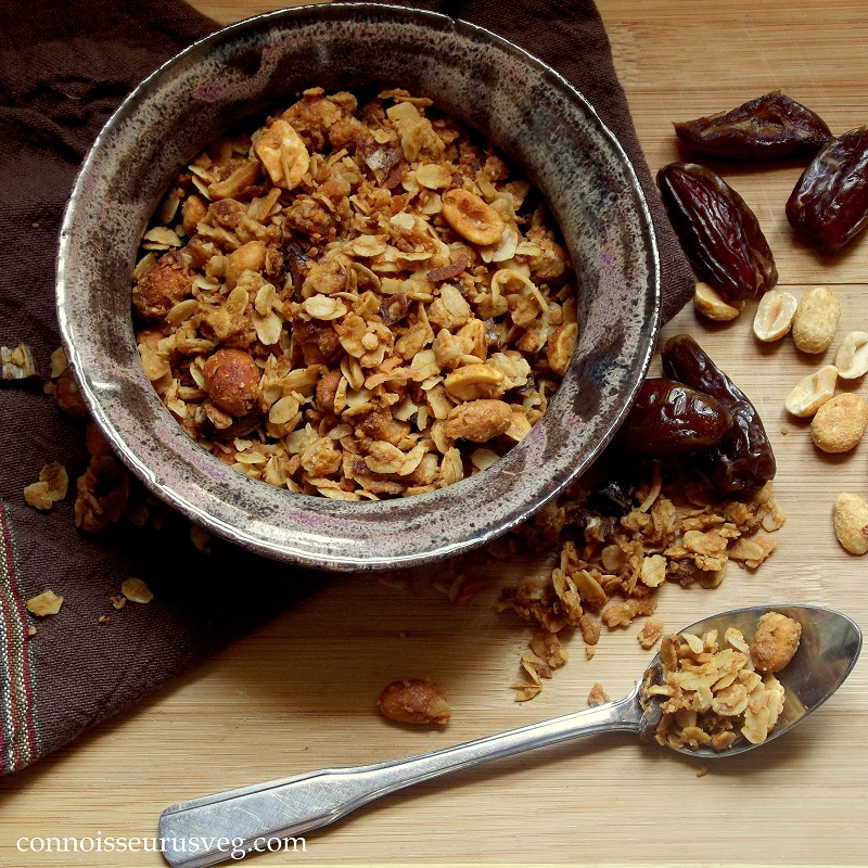 2. Peanut Butter and Date Granola