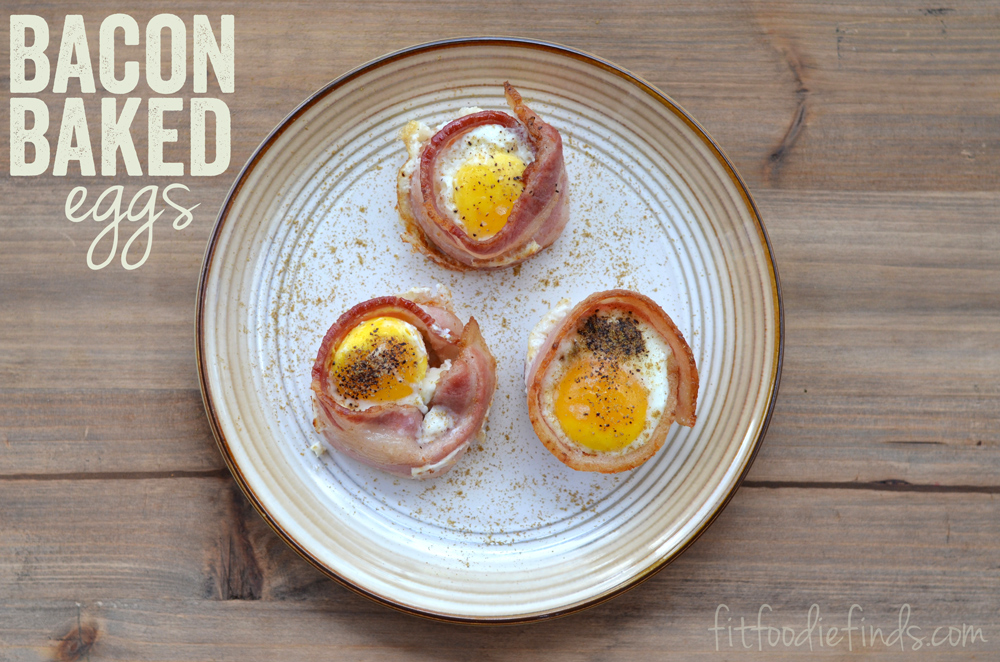26. Bacon Baked Eggs