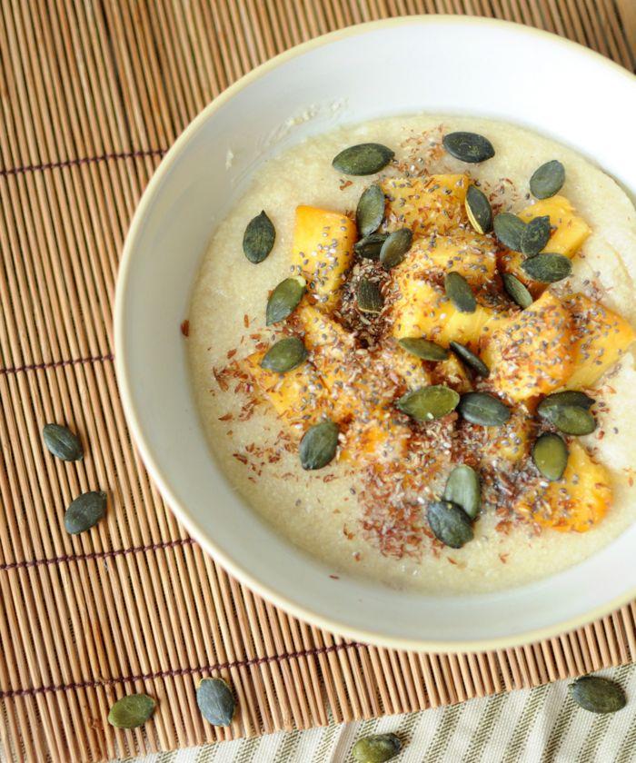 26. Vanilla Millet Porridge