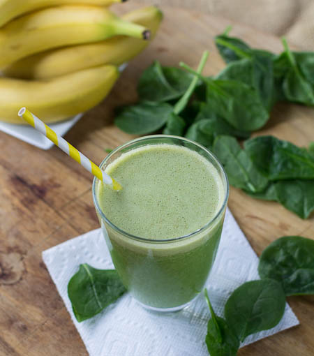 27. Spinach Banana Smoothie