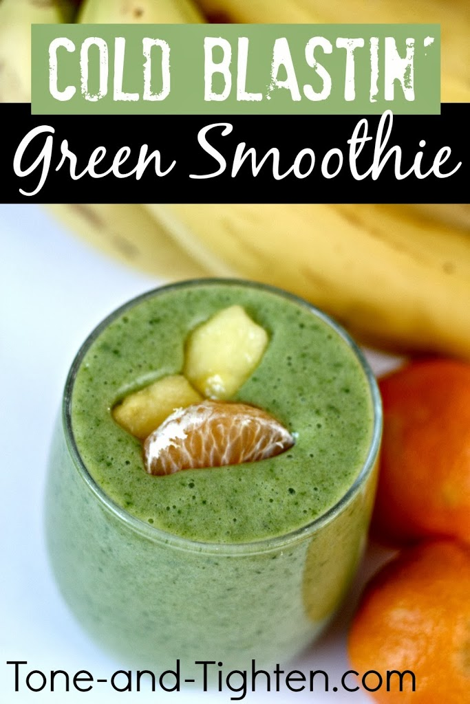 30. Vitamin C Cold Bustin' Green Smoothie