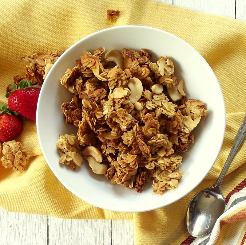 4. Coconut Milk Ginger Granola
