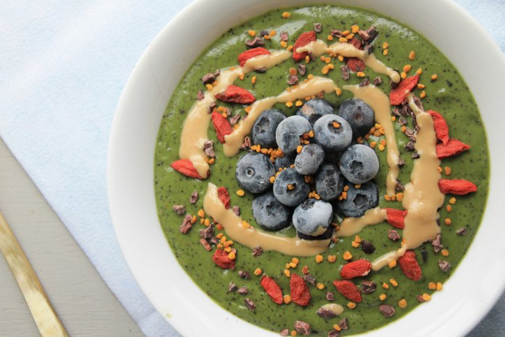4. Green Smoothie Bowl