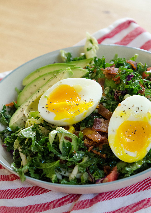 5. BLT Breakfast Salad