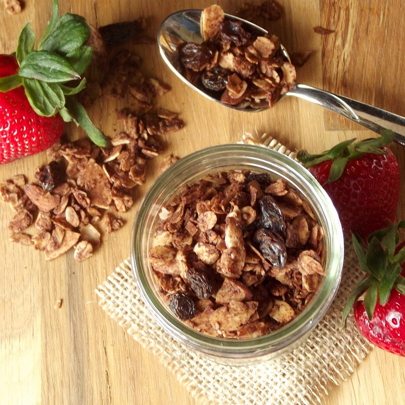 5. Chocolate Almond Granola