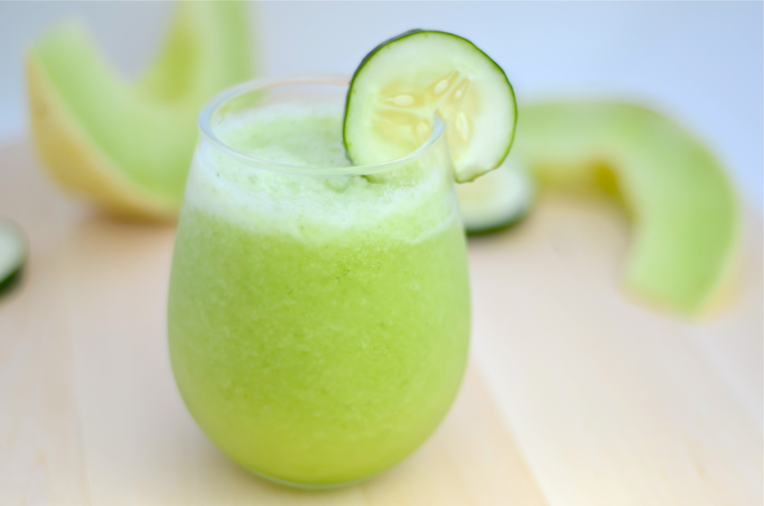7. Cucumber Melon Smoothie