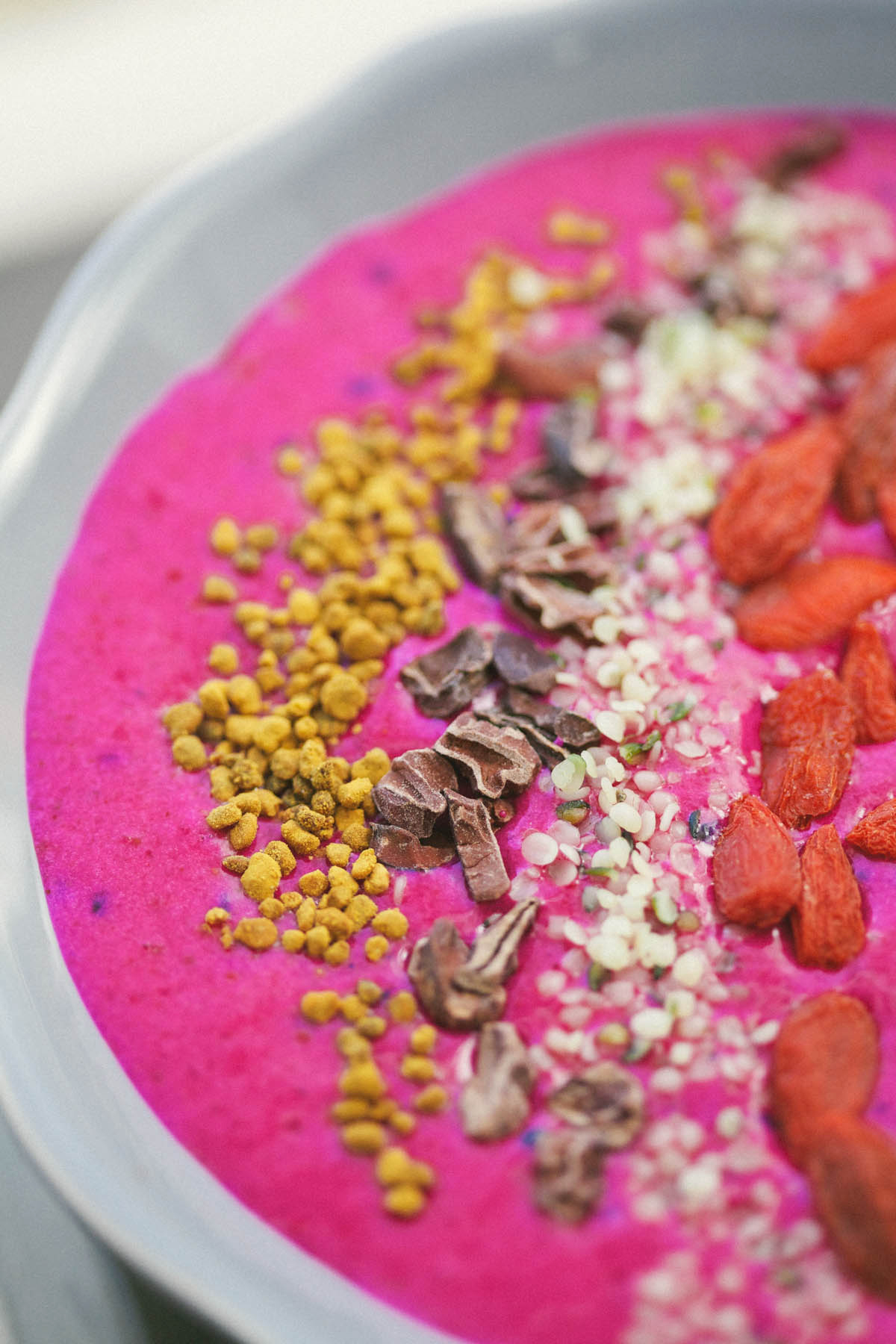 7. Pitaya Breakfast Bowl