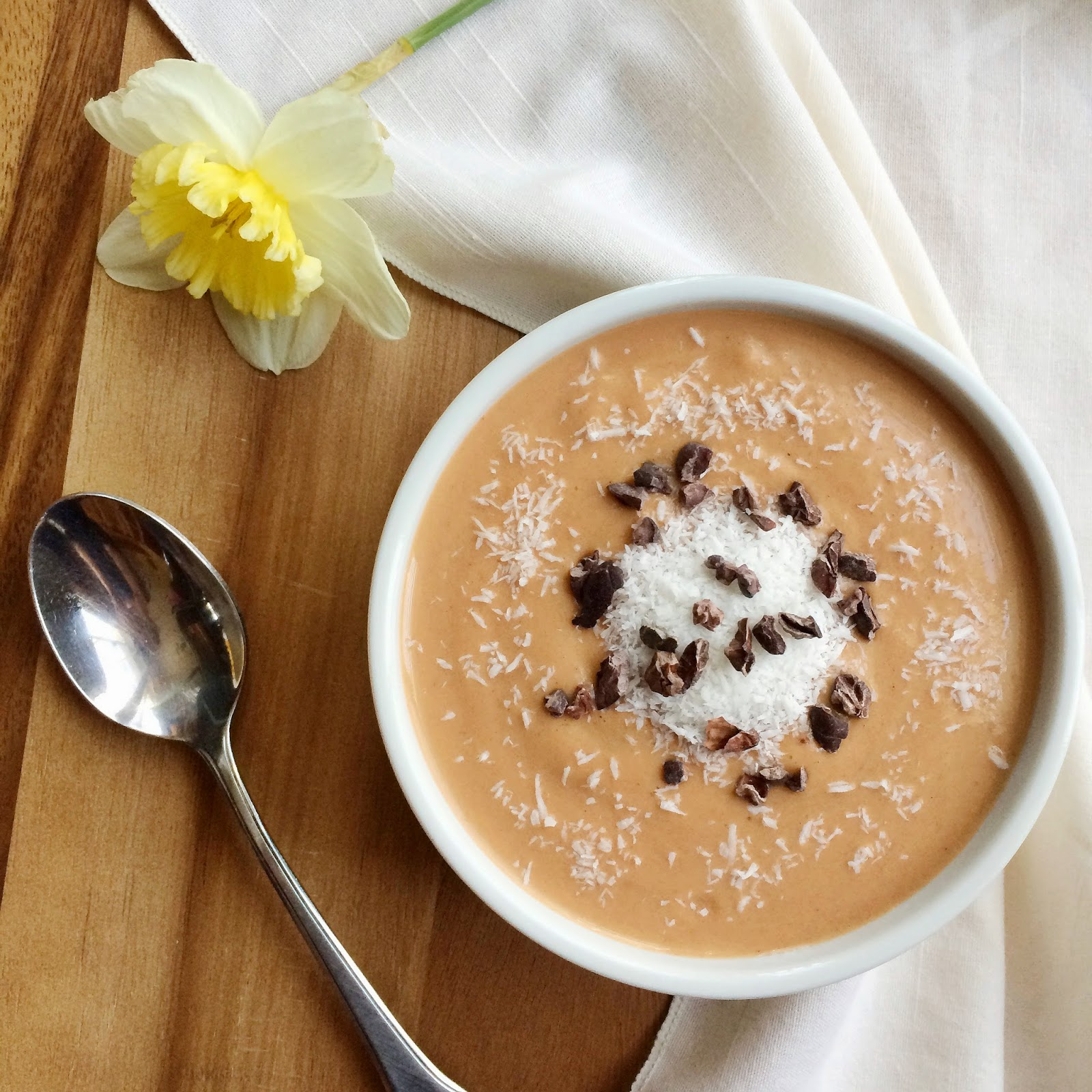 8. Carrot Cake Protein Smoothie