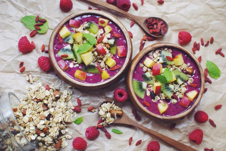 9. Hemp Protein Smoothie Bowls