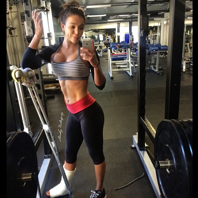 Fitness Model Ainsley Rodriguez's Best 36 Motivational ...