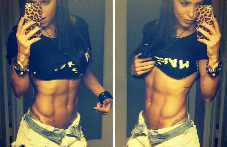 74 Inspiring Fitness Girls With Ripped Abs You Need To See!
