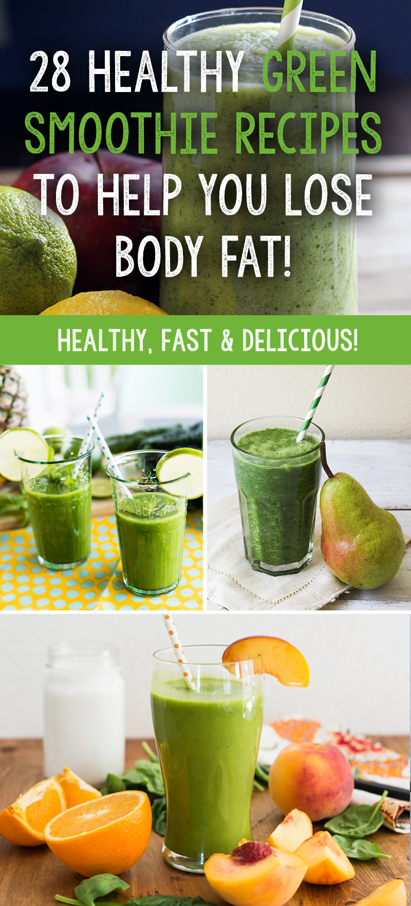 healthy shake recipes 28 healthy green smoothie recipes to help you lose 12046