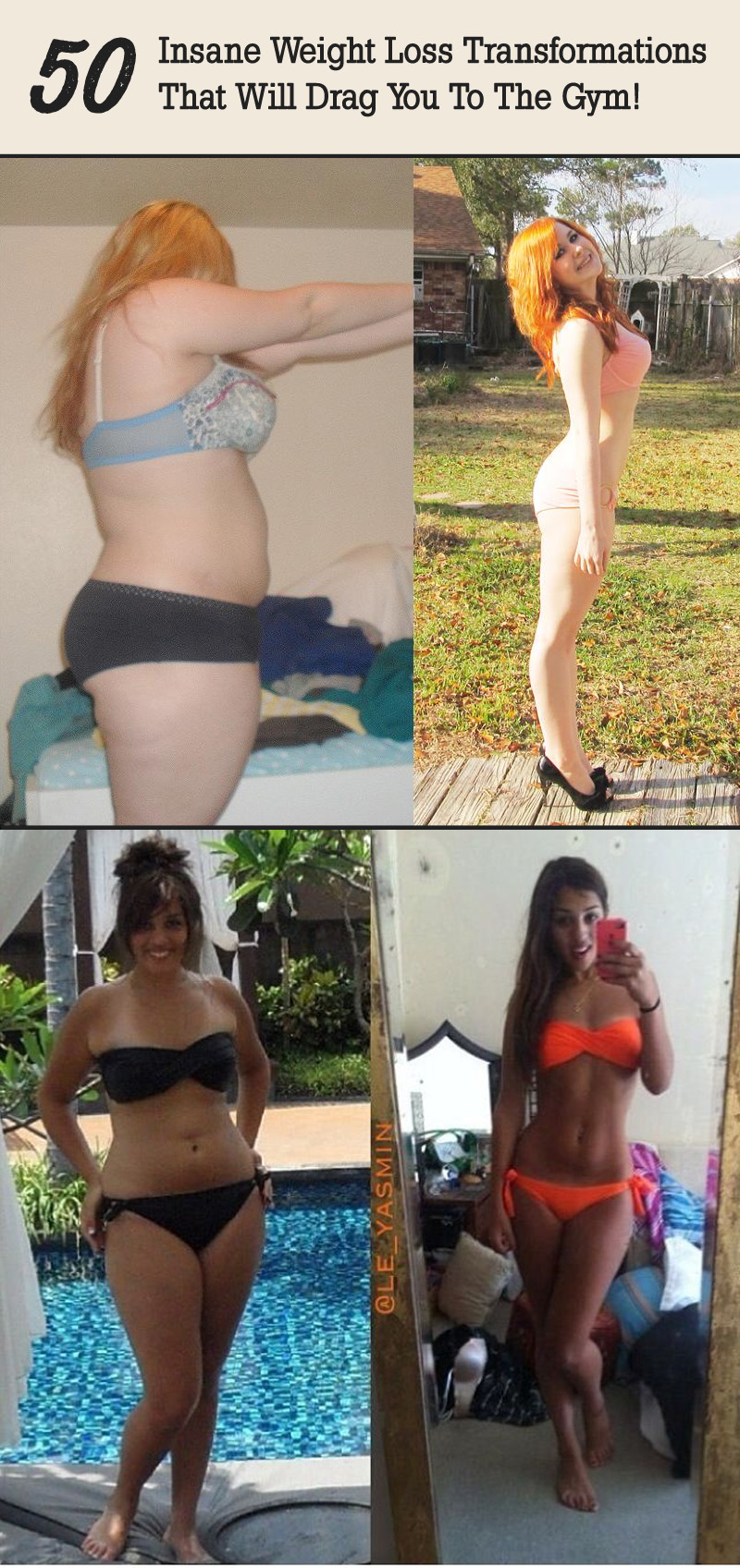 50 Insane Weight Loss Transformations That Will Drag You To The Gym!