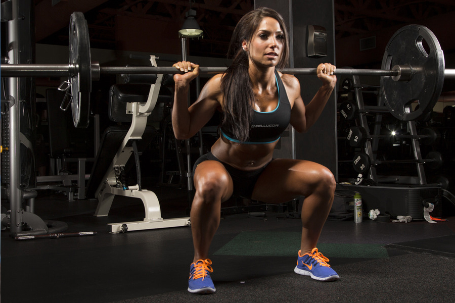 Bodybuilding.com Athlete Karina Baymiller's 40 Best Fitness Pics!
