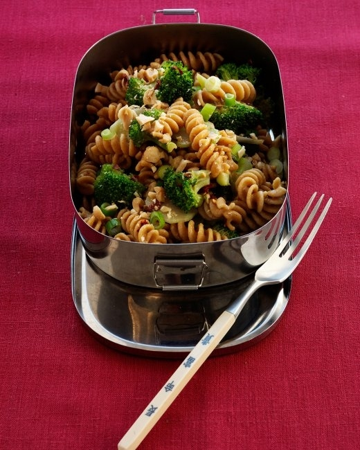 10. Pasta Salad with Broccoli and Peanuts