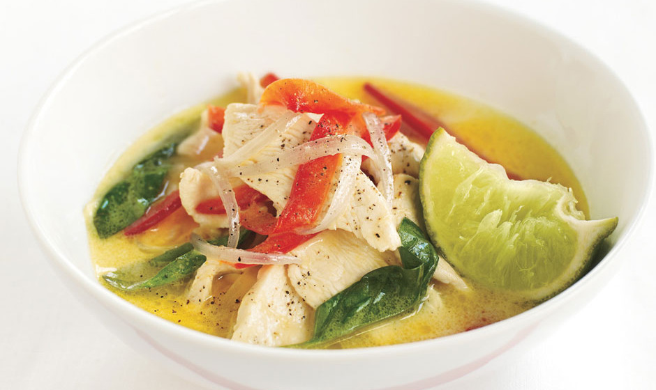 12. Thai Green Chicken Curry