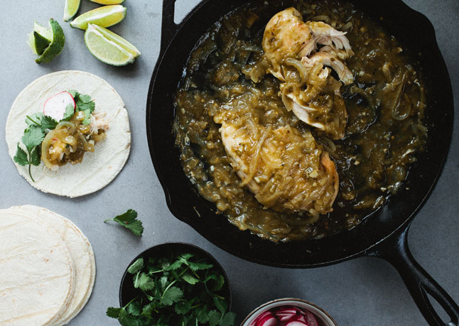 17. Chicken With Salsa Verde