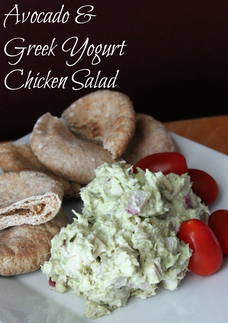 18. Avocado and Greek Yogurt Chicken Salad Wrap