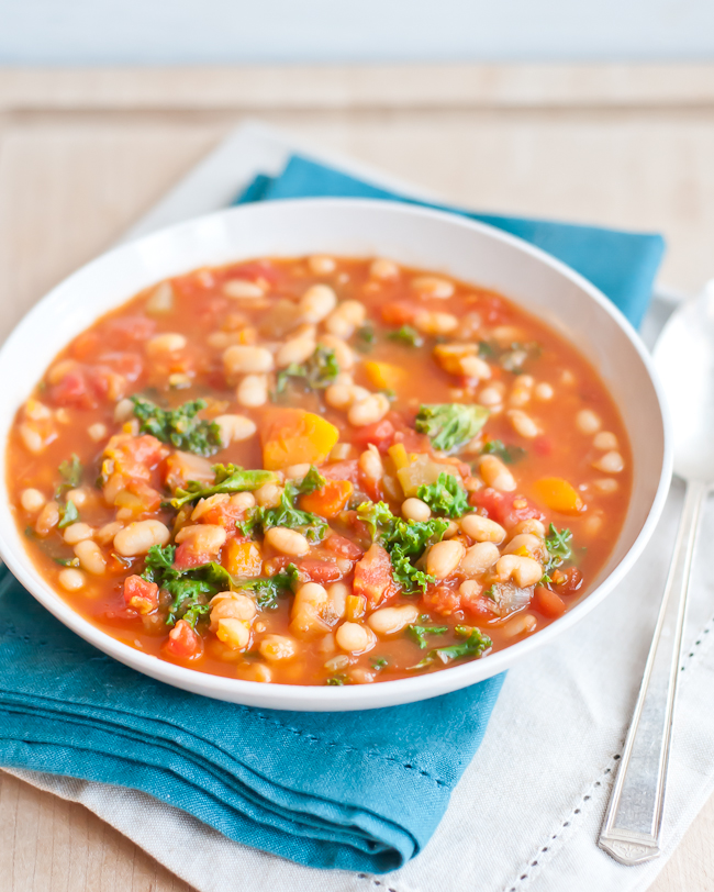 19. Hearty White Bean Vegetable Soup