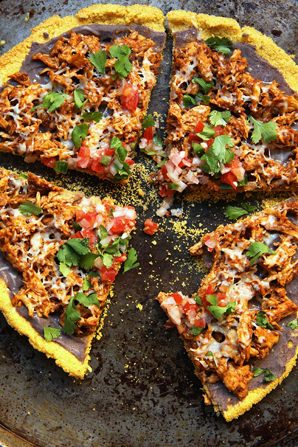 21. Gluten-Free Chicken Tamale Pizza