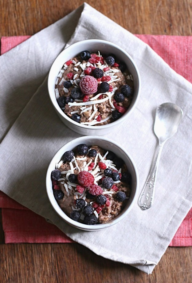 Cocoa Nib & Pomegranate Overnight Oats Recipes — Dishmaps