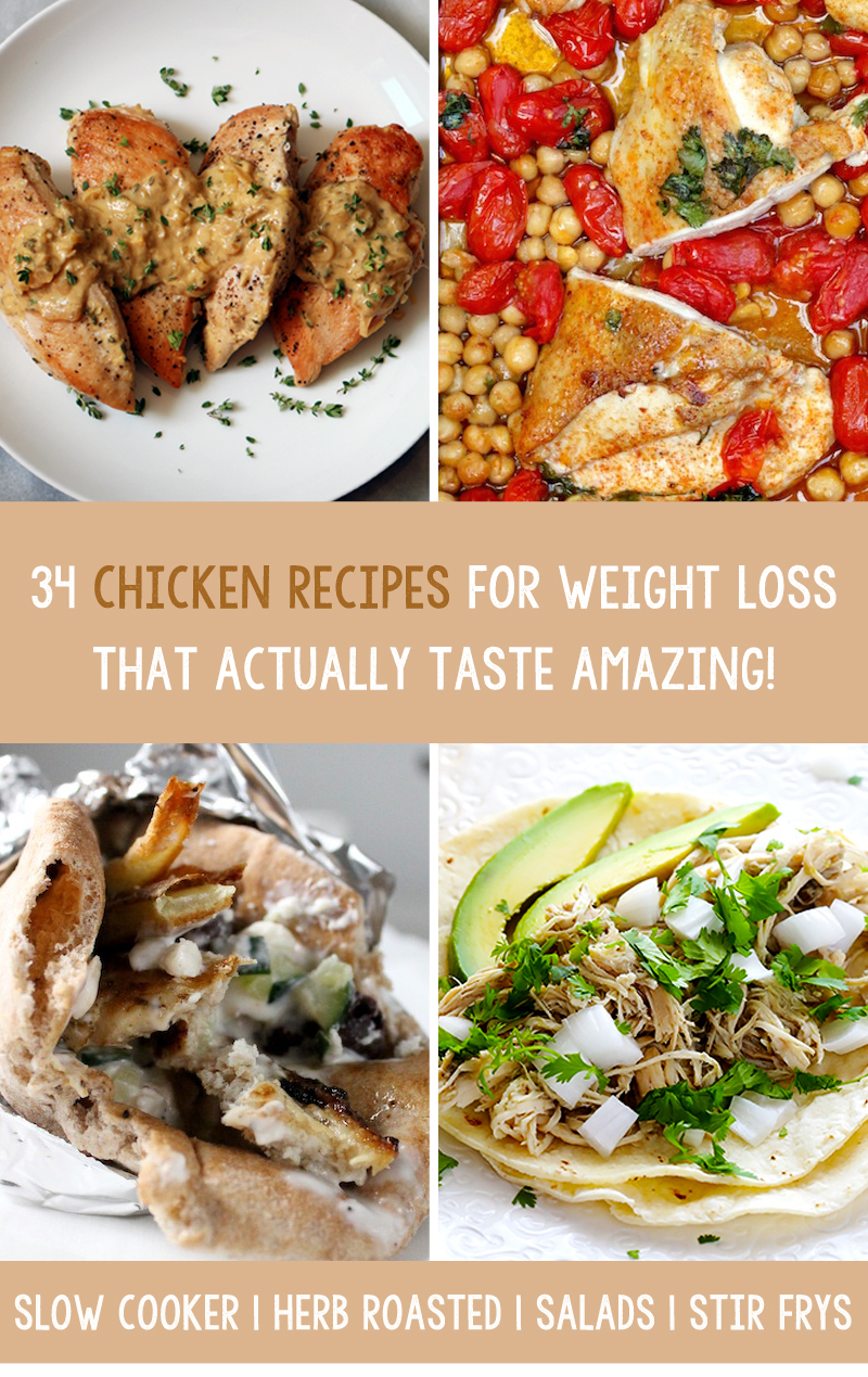 34-weight-loss-chicken-recipes-delicious