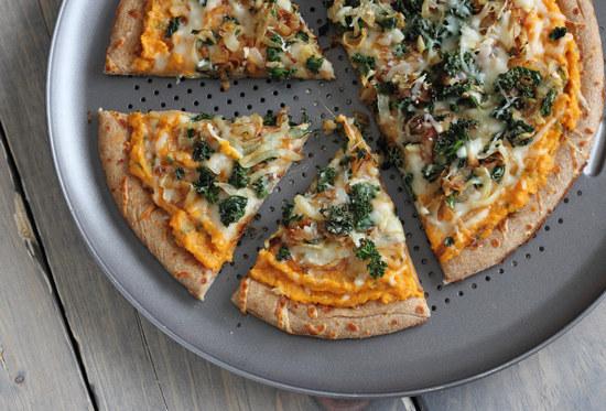 Potato, Caramelized Onion & Sausage Pizza Recipe — Dishmaps