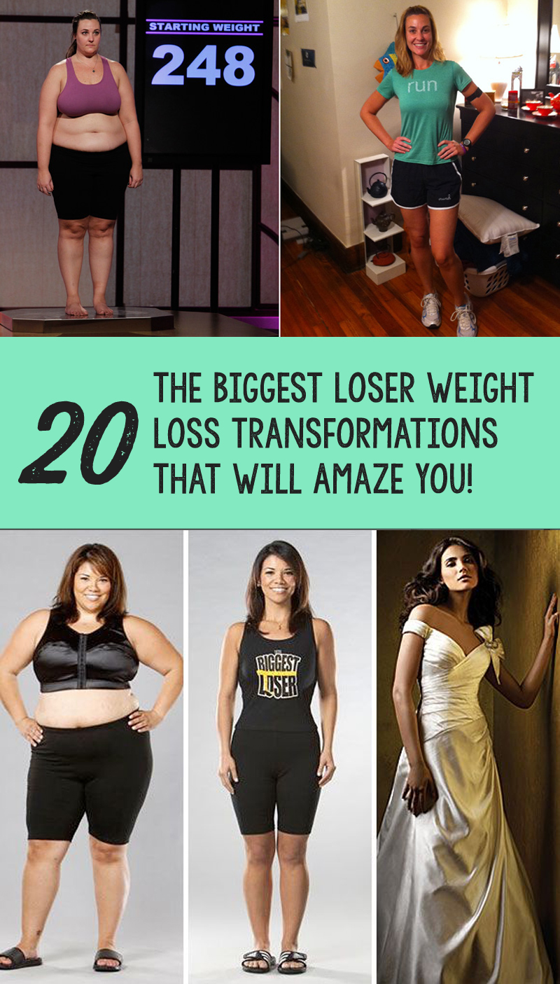 20 The Biggest Loser Weight Loss Transformations That Will Amaze You!