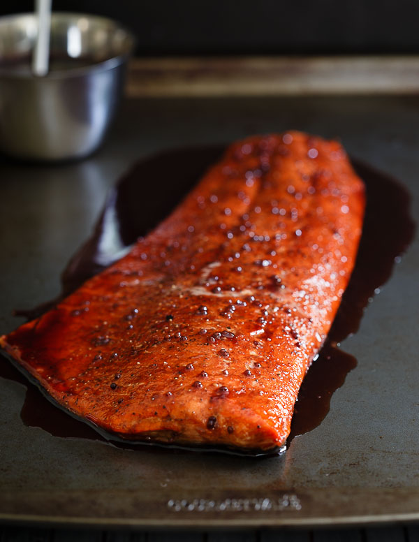 12. Tart Cherry Glazed Salmon Recipe