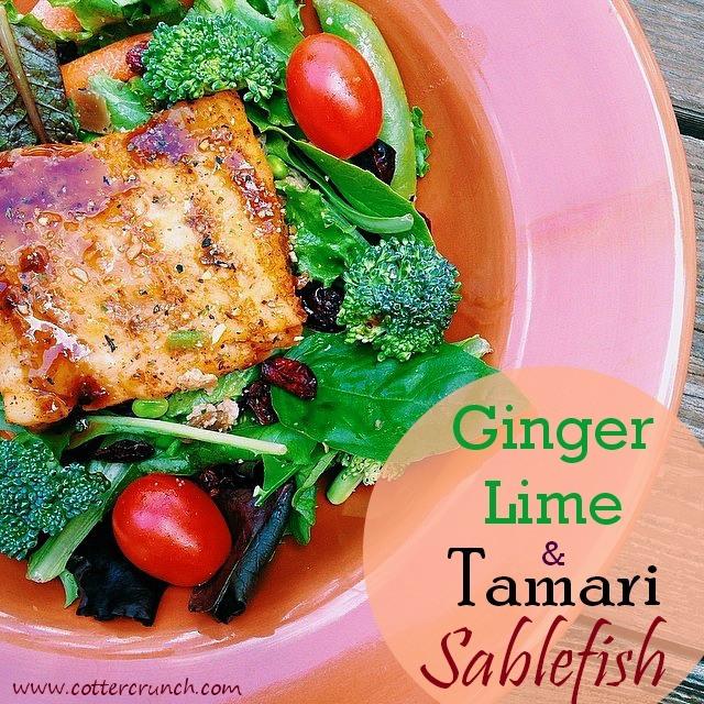 14. Ginger Lime Tamari Sablefish