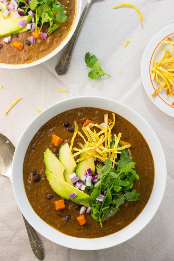 15. Smokey Black Bean and Sweet Potato Soup
