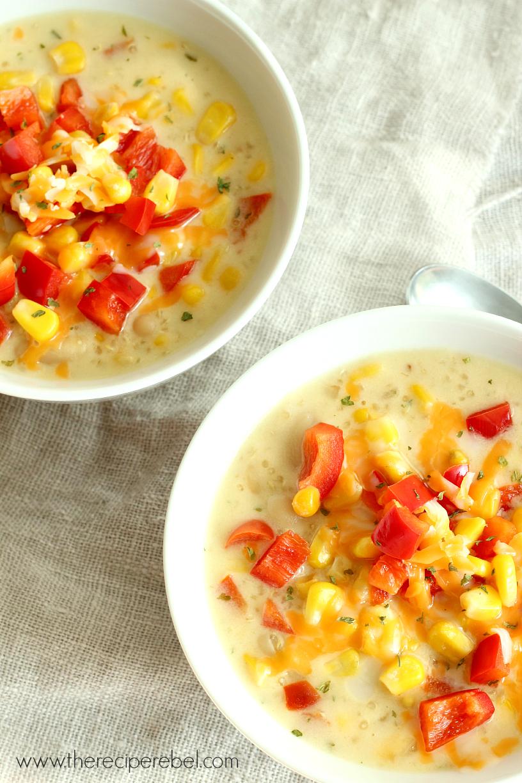 17. Quinoa Corn Chowder