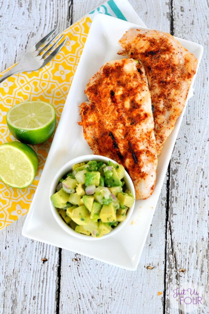 18. Chipotle Chicken With Avocado Salsa