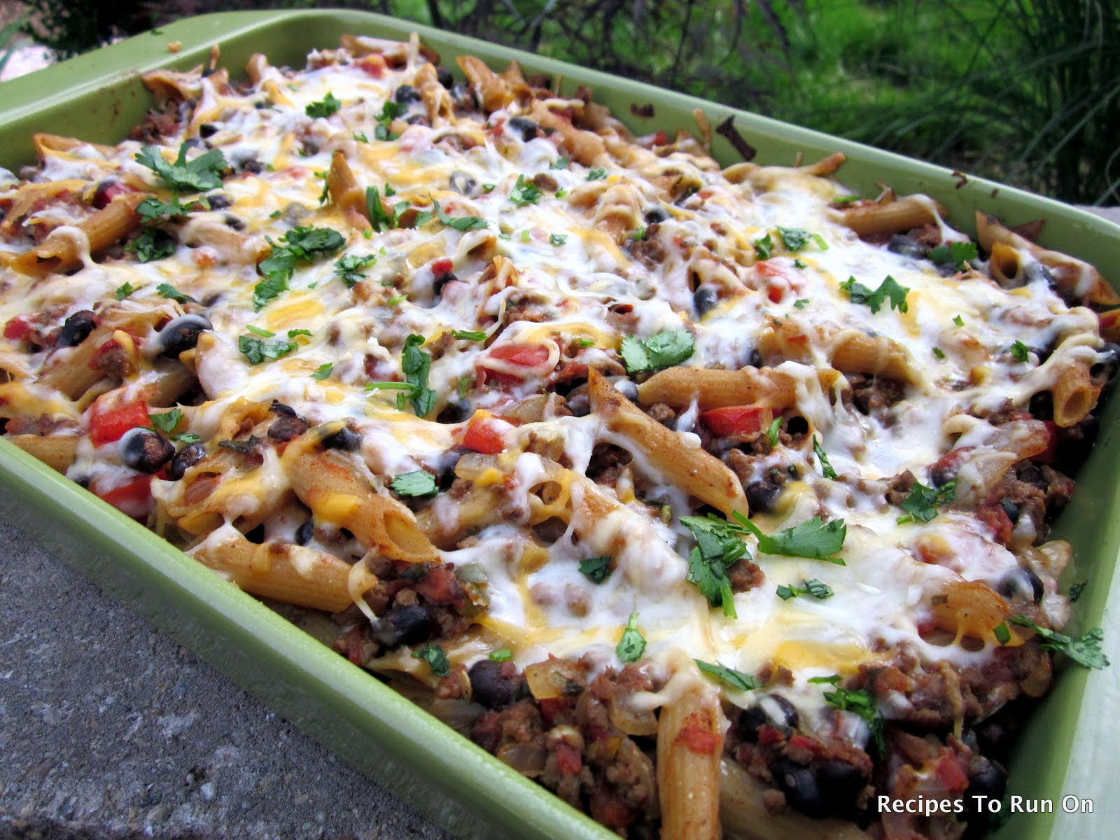 2. Mexican Baked Penne