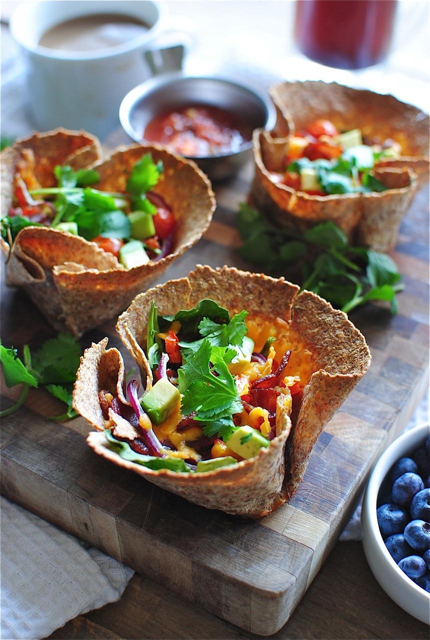 21. Breakfast Taco Cups