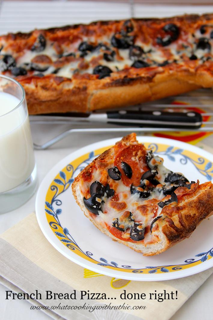 26. French Bread Pizza copy