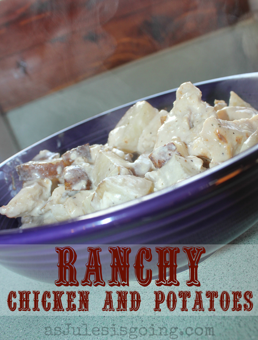 26. Ranchy Chicken and Potatoes