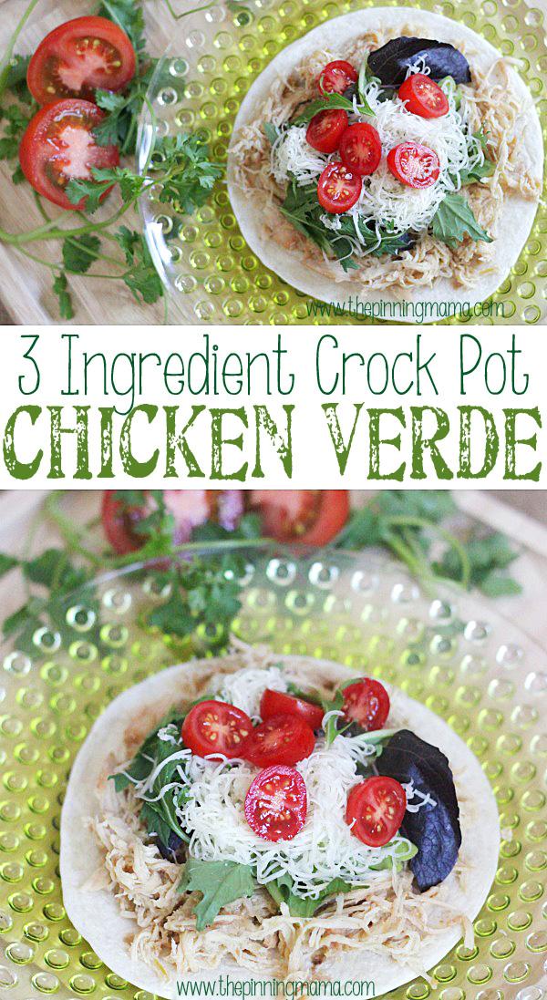 27. Chicken Verde