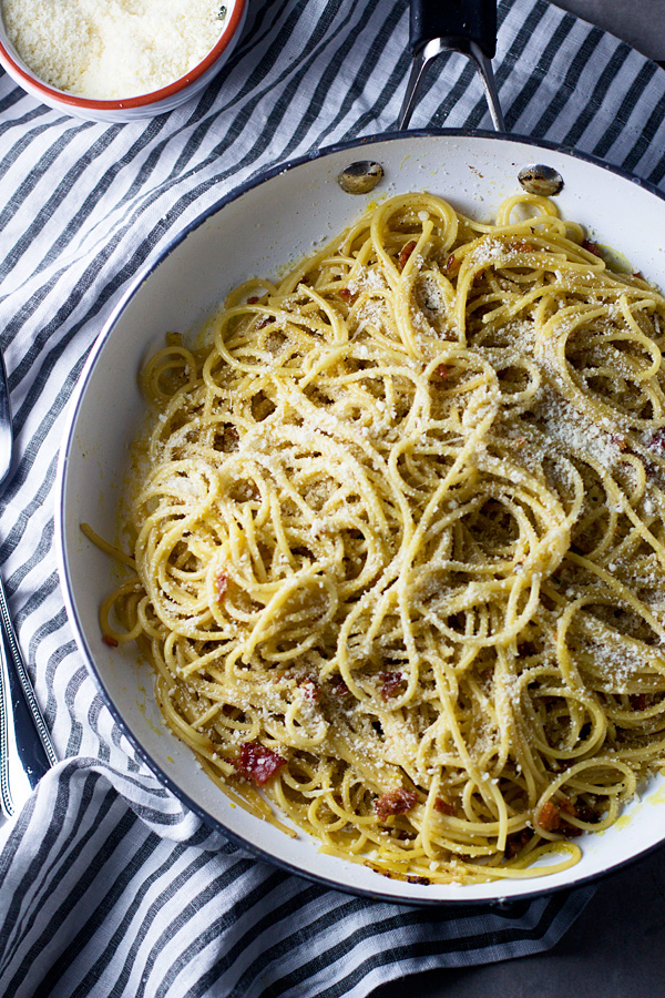 3. Spaghetti Carbonara