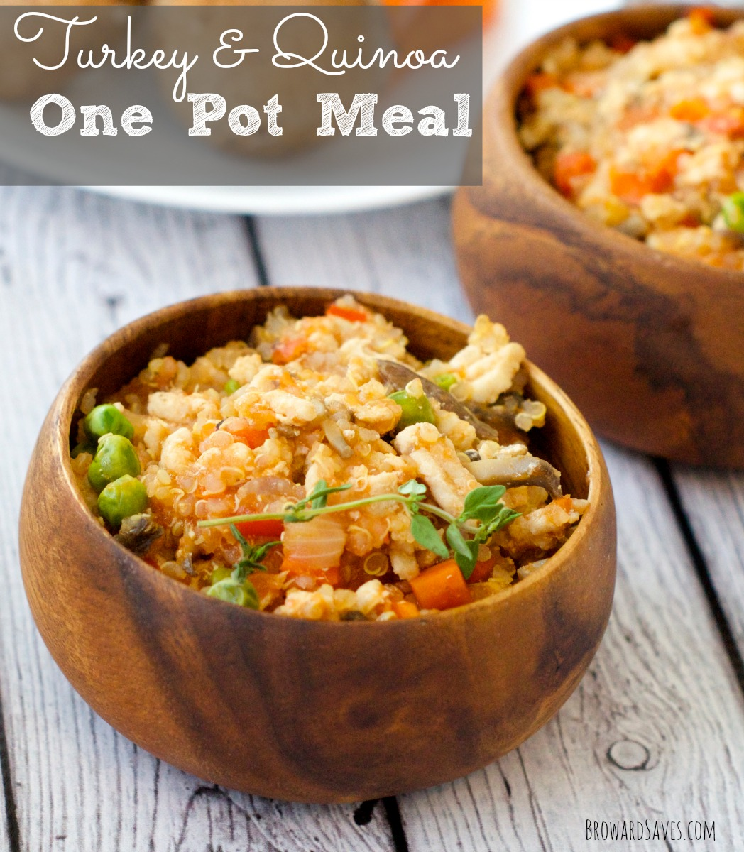 3. Turkey & Quinoa One-Pot Meal