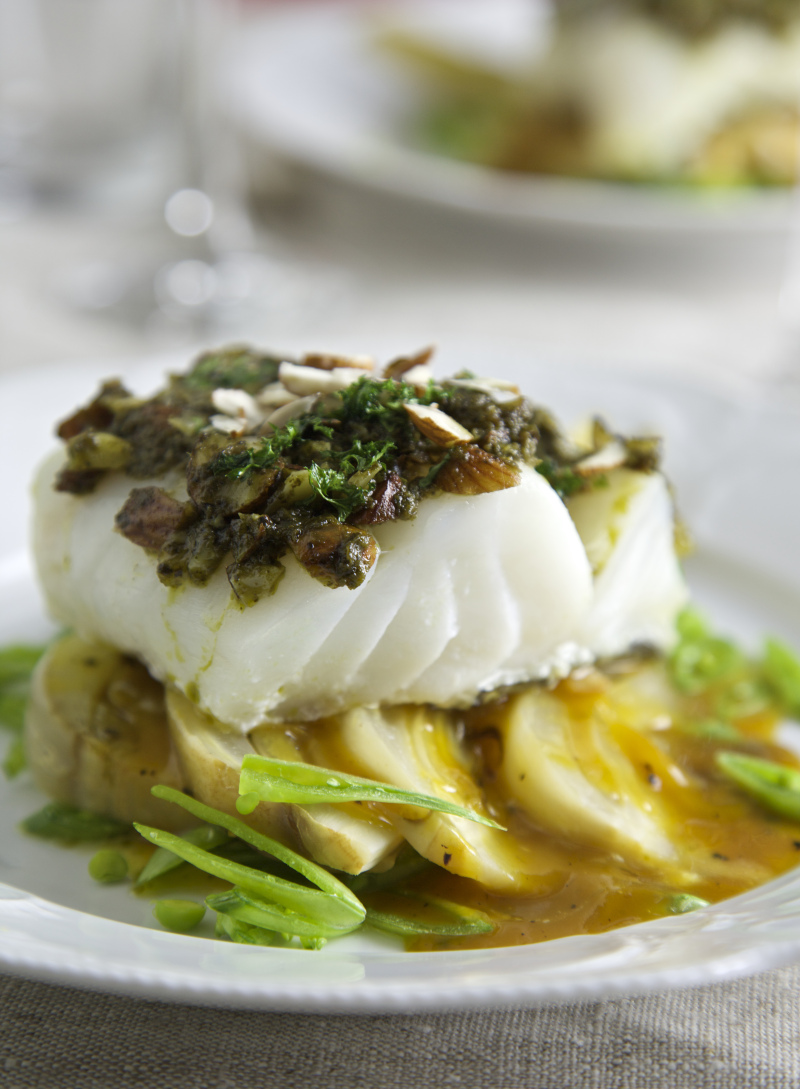 5. Baked Cod with Orange Fennel Recipe