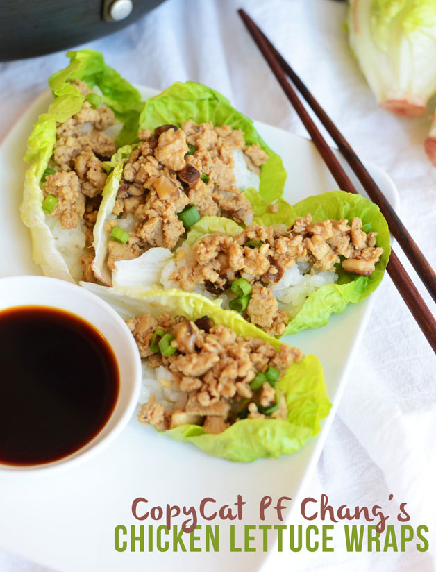 7. Restaurant-Style Chicken Lettuce Wraps