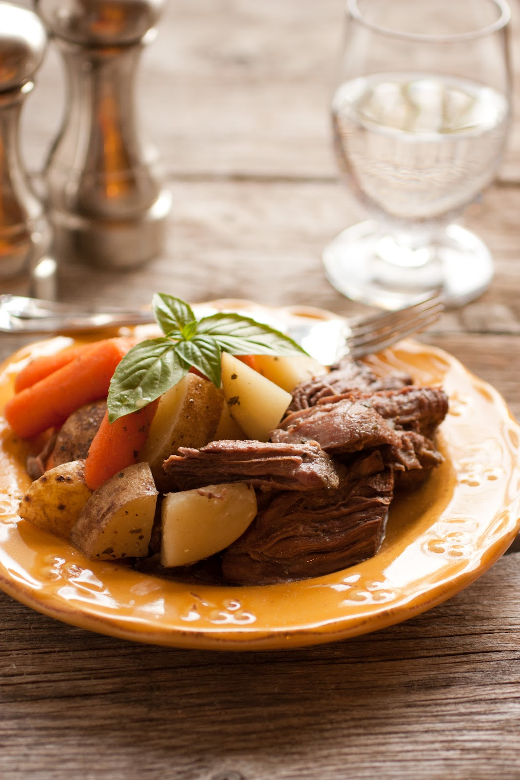 9. Slow Cooker Pot Roast