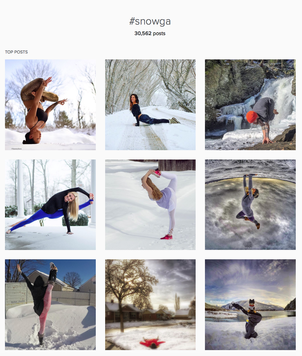 The Best Of #Snowga Posts On Instagram To Keep You Motivated!