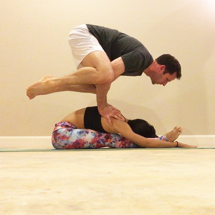 Couples Yoga Poses Images