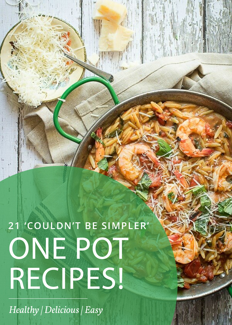 21 Easy One Pot Weight Loss Recipes That Couldn't Be Simpler!