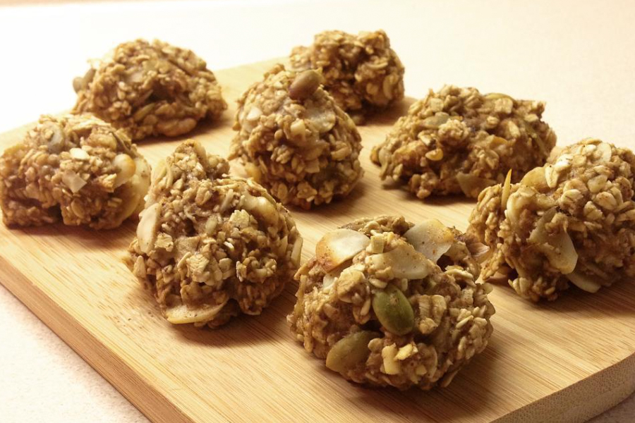 Easy 15 Minute Weight Loss Cookies Made With Banana Oats Trimmedandtoned