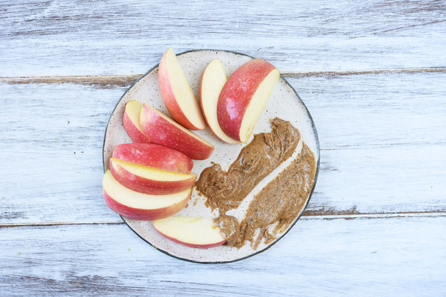 15. Apple Slices and Almond Butter