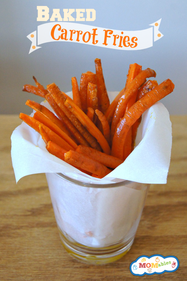 16. Baked Carrot Fries